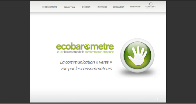 Ecobaromètre