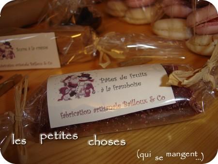 En attendant le Père Noël #9 – Les pâtes de fruit aux framboises