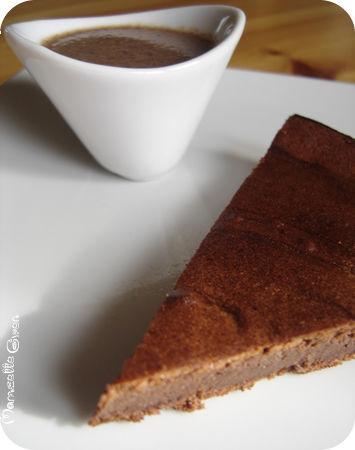 Le moelleux au chocolat de L. Salomon et sa petite sauce qui va bien