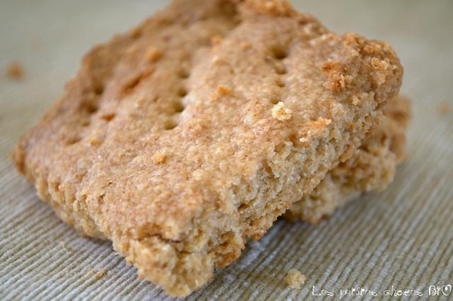 shortbread sans beurre