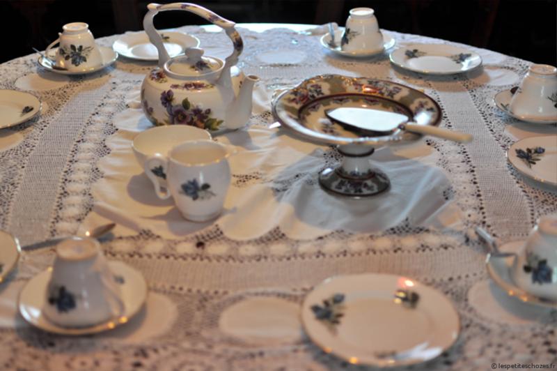 Irlande Bunratty Folk Park Service à thé en porcelaine