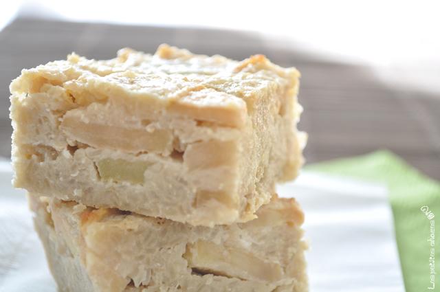 Clafoutis Aux Pommes Et Aux Flocons De Quinoa