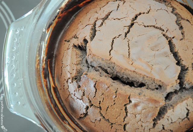 Mi-cuit chocolat sésame noir