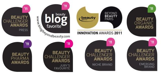 La cosmétique bio à l'honneur de Beyond Beauty - Palmarès des Beauty Challenger Awards 2011