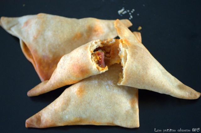 Empanadas chorizo et oignons nouveaux